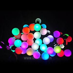 LED Christmas Decoration Ball String Lights (LDSBM-10B) pictures & photos