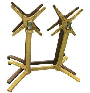 Commercial Folding Aluminum Double Table Leg (TB-15601) pictures & photos