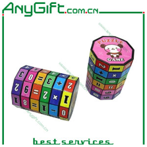 Prism Shaped Plastic Magic Cube with Customized Logo pictures & photos