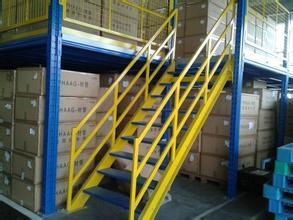 Warehouse Storage Multi-Level Mezzanine Floor Rack pictures & photos