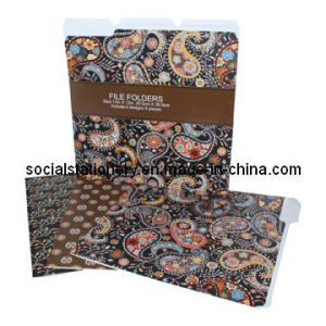 Designer File Folders-Letter Size-Assorted-6PCS Per Set (TOC02005)