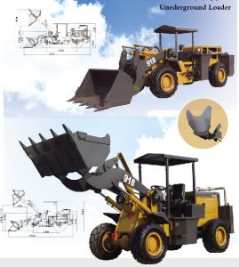 1.6ton High and Low Type Underground Mining Loader pictures & photos