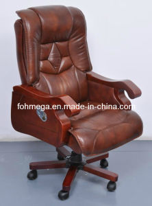 Executive Office Light Brown Leather Throne Chair (FOH-B8003) pictures & photos