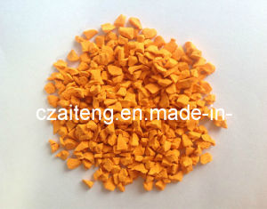 EPDM Granules (JTXD-1103 Orange) pictures & photos