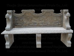 Antique Stone Marble Bench, Garden Furniture (2092) pictures & photos