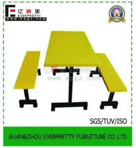 Canteen Restaurant Dining Fiberglass Tables and Chairs pictures & photos