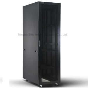 "Welded Frame Nine-Folded 19"" Server Cabinet pictures & photos"