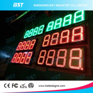 Outdoor LED Gas Price Charger Sign (RF Remote Controll/PC controll) pictures & photos