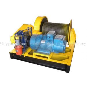 Electric Winch for Pulling Boat From Sea Water pictures & photos