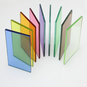 6.38mm 8.38mm 12.38mm Clear or Colored Laminated Tempered Glass pictures & photos