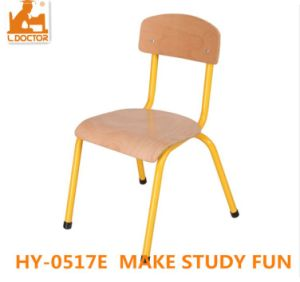Wood Metal Kids School Chair for Classroom Studying pictures & photos