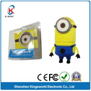 Minions PVC Cartoon 16GB USB Flash Memory pictures & photos