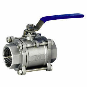 China Two Pieces Ball Valve for Food Industry pictures & photos