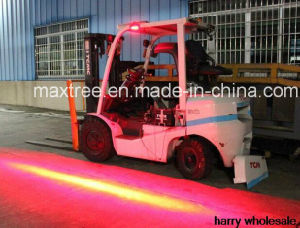 Single Side Red Zone Forklift Safety Light for Truck Trailer Construction pictures & photos