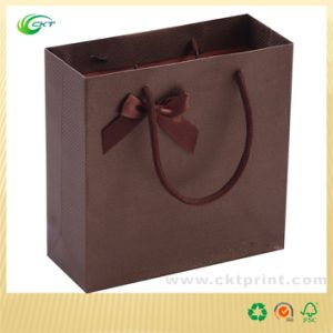 Custom Brown Paper Bags in China (CKT-PB-377)