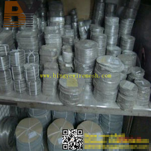 Stainless Steel Woven Filter Disc Security Screen Wire Mesh pictures & photos