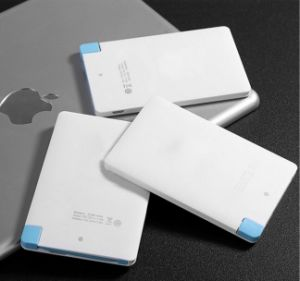 Plastic Credit Card Power Bank 4000mAh Customized Logo Available pictures & photos