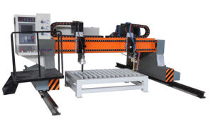CNC Gantry Flame Plasma Cutting Machine pictures & photos