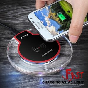 Wireless Charging Pad Station for Qi-Enabled Smartphones pictures & photos