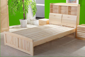 Solid Wood Bed (H-H0254)