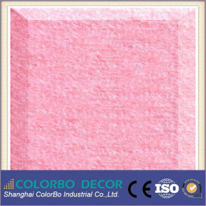 Multi-Color Building Material Polyester Fiber Acoustic Panel pictures & photos