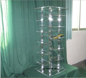 Acrylic Shoes Display Stand (H112301)