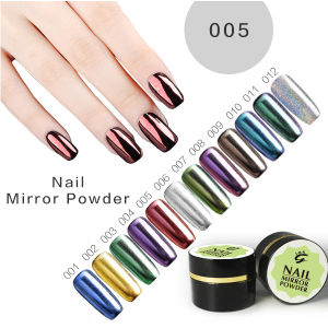 Best Metallic Mirror Nail Gel Powder pictures & photos