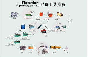 Complete Flotation Separating Euipment in Mineral Processing Project pictures & photos