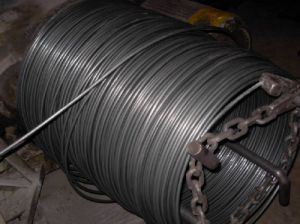 SAE1008 6.5mm Low Carbon Steel Wire, Steel Wire Rod pictures & photos