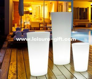 Fo-9506 Color Changeable LED Flower Pot for Decorate pictures & photos