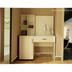 Oppein High Quality White Wood Veneer Dresser (ZT11153A116) pictures & photos