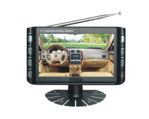 7inch portable lcd tv monitor with USB &Card reader (KL-VC707B)