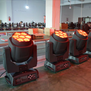 7*15W RGBW 4in1 LED Moving Head Light with Zoom Point Control pictures & photos