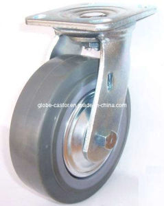 Industrial Wheel Swivel PU Caster Wheel (Gray) pictures & photos