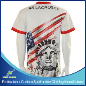 Custom Designed Full Sublimation Printing Team Sports T Shirt pictures & photos