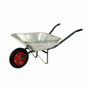 Heavy-Duty Metal Tray Wheelbarrow (WB4012) pictures & photos