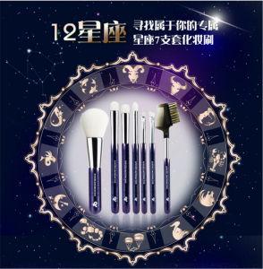 12 PCS Makeup Brush Set with Constellation Tin Box pictures & photos