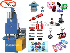 Dual Sides USB Cover, Key Chain Injection Molding Making Machine Full Automatic pictures & photos