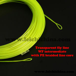Perfect New Design Transparent Fly Fishing Line with PE Braided Core pictures & photos