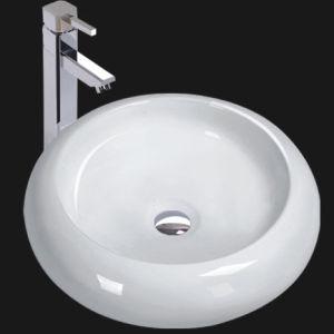 Unique Porcelain Bathroom Vessel Sink (6036)