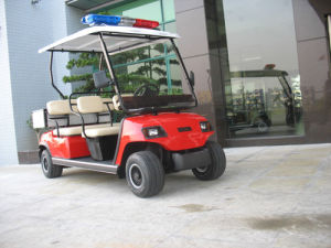 4 Seaters Electric Patrol Vehicle 48V/3.7kw, CE, ISO pictures & photos