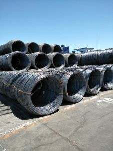 Steel Wire Rod SAE1018 Q235 9mm 11mm with High Quality pictures & photos