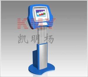 Height Adjustable Touch Screen Card Dispensing Kiosk pictures & photos