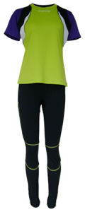 Lady Running Triathlon Performance Wicking Active Wear
