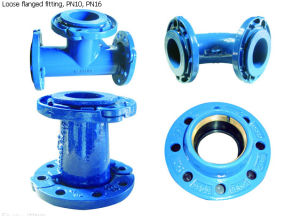 Loose Flange Fittings for PVC Pipeline pictures & photos