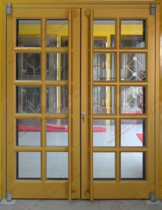 Australian Standard Ans Aluminum Casement Door (BHA-DK09) pictures & photos
