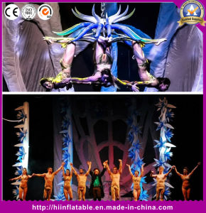 Performance Stage Decoration Lighting Inflatable Flower pictures & photos
