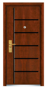 Luxury MDF Security Door (FXGM-C303) pictures & photos