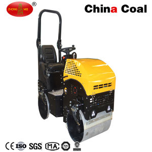 Ride on Dual Drum Heavy Vibratory Construction Compactor Road Roller pictures & photos