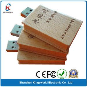 Wood Book Shaped USB 2.0